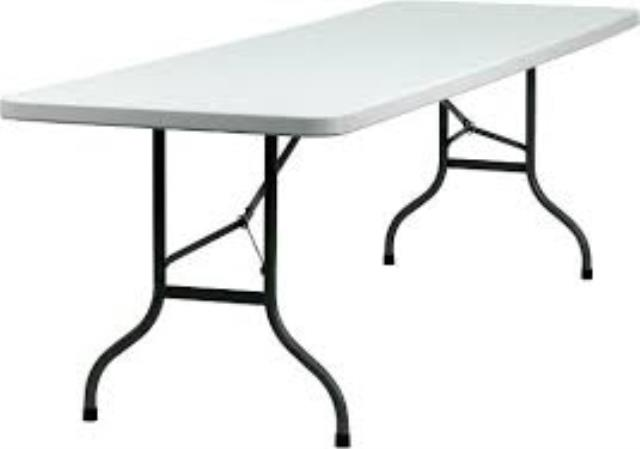Where to find TABLE, 8  RECTANGLE PLASTIC in Helena