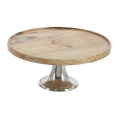 Rental store for CAKE STAND MODERN PEDESTAL 12 in Helena MT