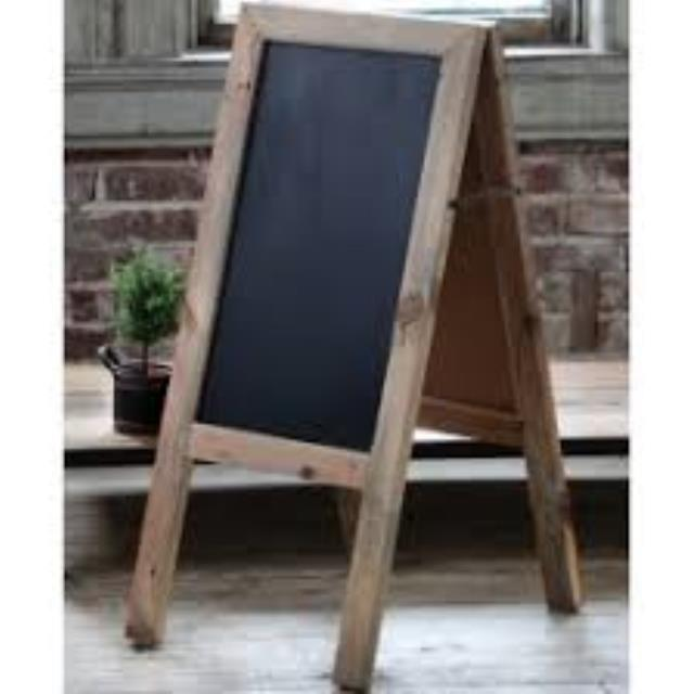 Where to find CHALKBOARD  SKINNY TAN 39 x 19 in Helena