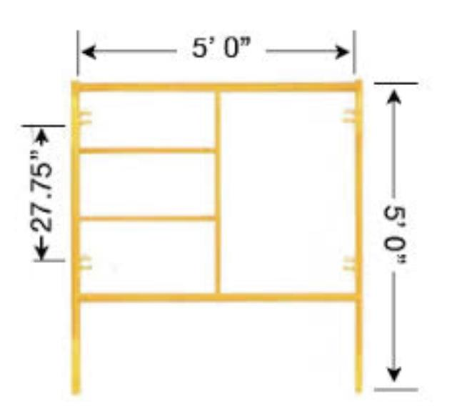 Where to find SCAFFOLD, FRAME 5 X5 in Helena