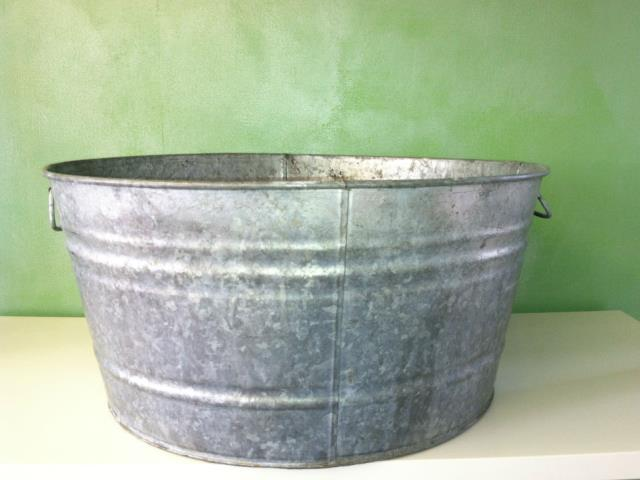 Where to find TUB, SILVER RUSTIC 11gal 20 in Helena