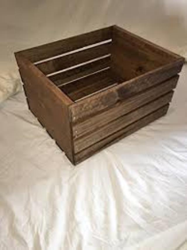 Where to find CRATE, WOODEN 10 X9 X6 in Helena