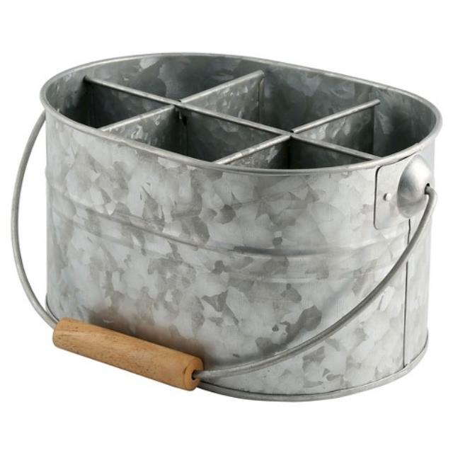 Where to find CADDY, UTENSIL SILVER W HANDLE in Helena