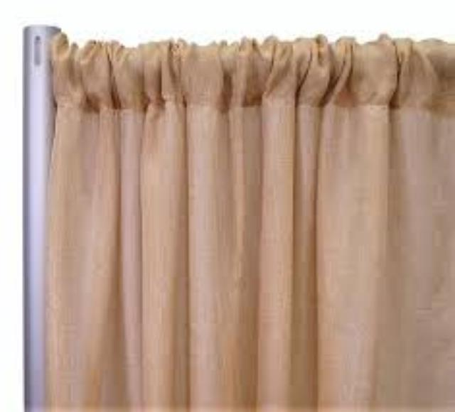 Where to find PIPE   DRAPE, BURLAP 8 X6 in Helena