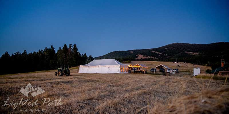 Rental a party tent in  Helena MT